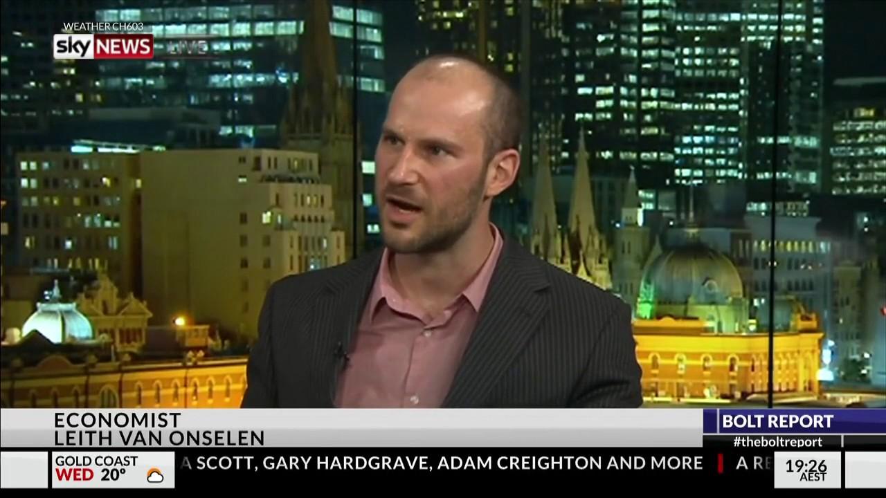 Leith van Onselen talks mass immigration on Bolt Report