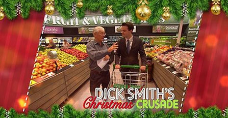 Dick Smith's Christmas Crusade: A Current Affair, Monday 11 December 2017